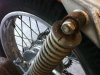 Not sure the shocks are original - they don\'t look like SL350 K1 shocks, so they\'ll probably get replaced.