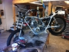 The bike comes off the assembly table