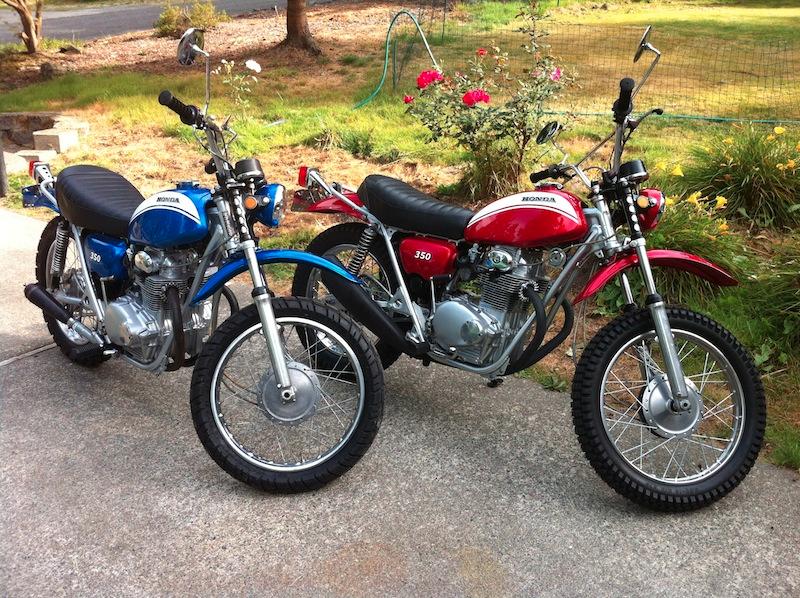 Twin Honda Twins!