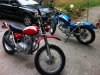 Red bike looks great, blue bike will be the weekend workhorse