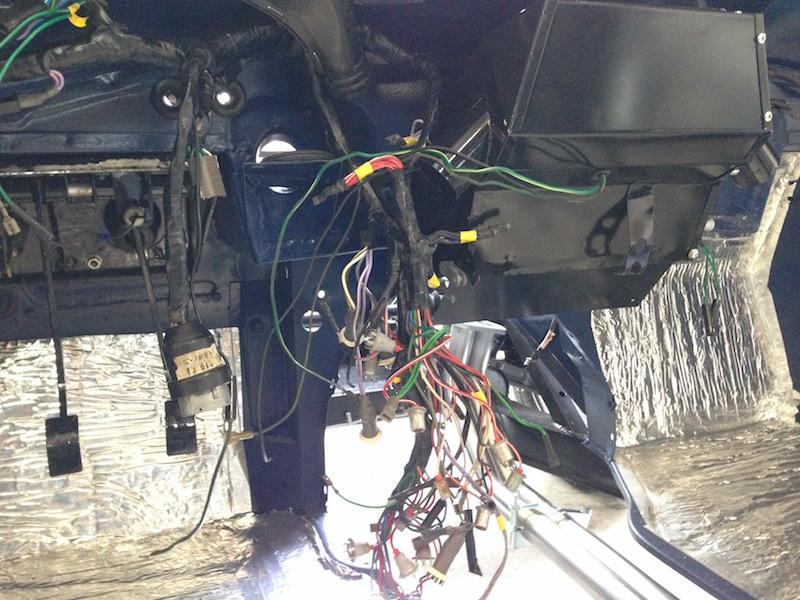 TR6 Dashboard Restoration – jimphoenix.com