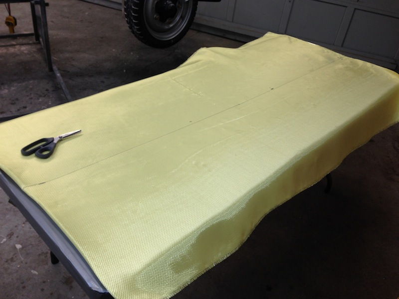5mm Kevlar for the body sides per the GCR's