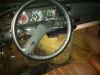 New leather steering wheel cover - very soft :-)