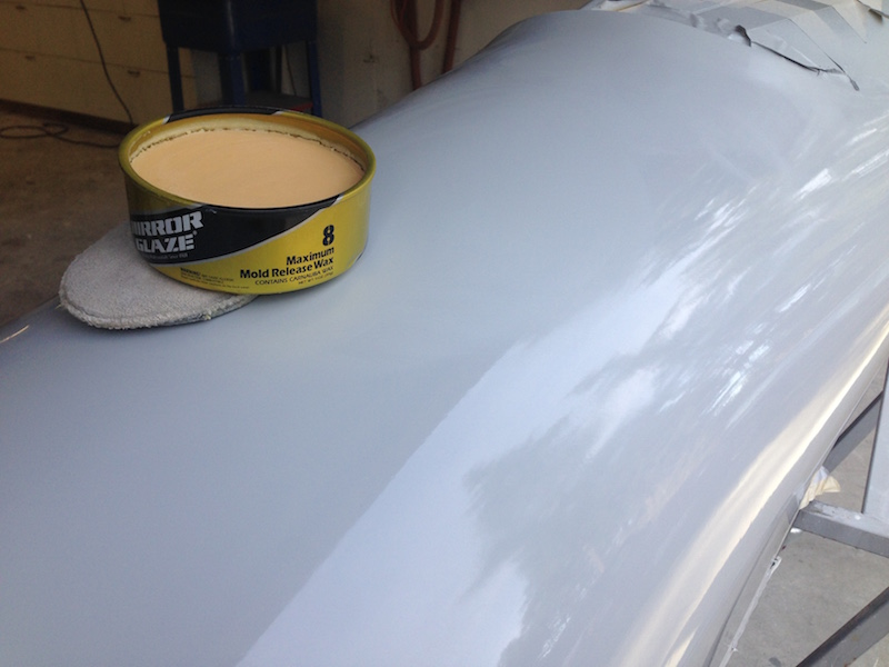 Wax with Meguiar's Mold Release Wax