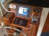 Raytheon Chartplotter, GPS, Marpa radar, depthsounder, DSC from Icom 422 VHF.