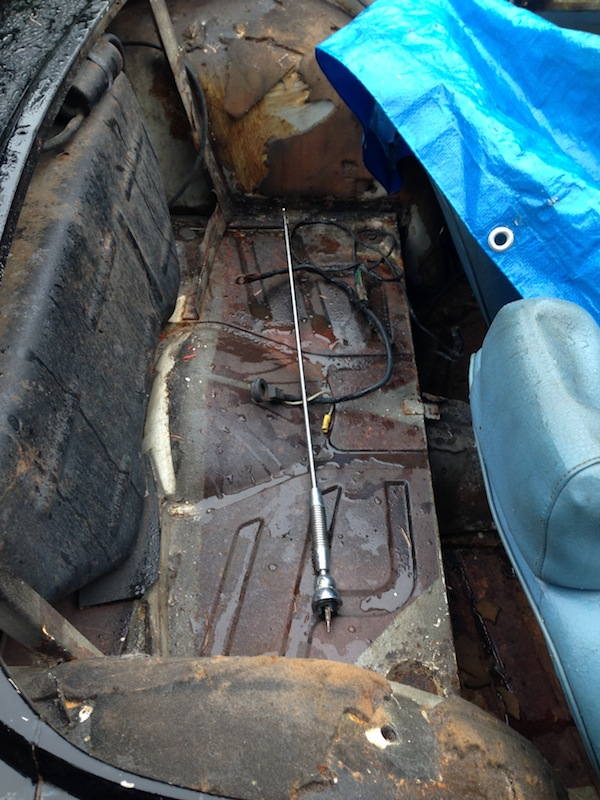 Most of the rust is minor surface rust, the frame is excellent, no major rust there.