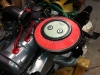 The Nissan filter that fits perfectly, great tip from the Yahoo DS list guys!