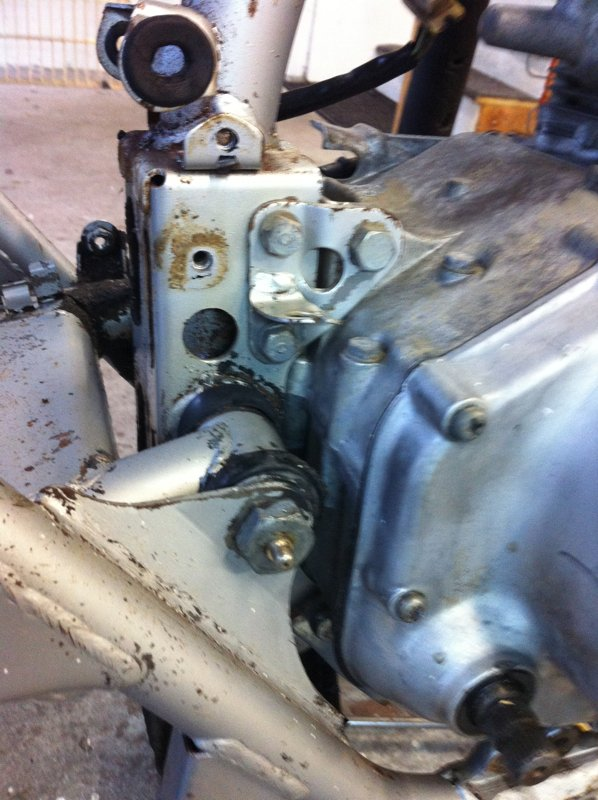 Everything will come apart get stripped, blasted, wire brushed and cleaned, the either re-plated, chromed or painted.