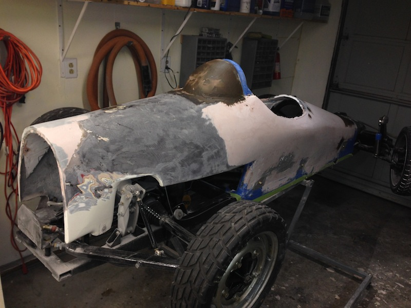 Getting closer to laying kevlar and fiberglass