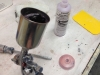 I spray the new mold with mold release