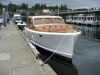 1947 Monk designed cruiser, built in Gig Harbor by Skansie Bros.