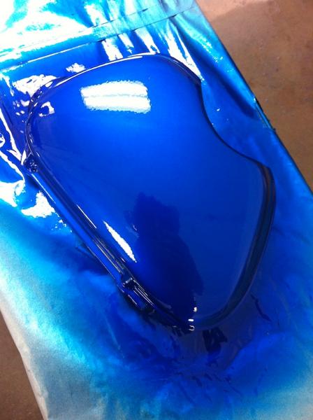 The blue looks beatiful!