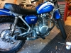 New Supertrapp 3M muffler going on the blue bike